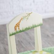 Set of 2 Children's Chairs - Alphabet