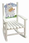 Teamson Kids - Children's Zebra Rocking Chair
