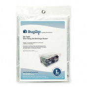 BugZip Large Bed-Bug Resistant Suitcase and Clothing Encasement