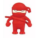 Bone Collection Ninja 4GB USB Flash Drive - Red