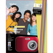 Vivitar Freelance 2.1 MP Digital Camera - Red