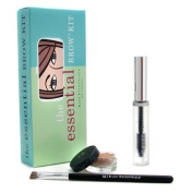 i.d. Essential Brow Kit - Pale/ Ash Blonde ( Brow Colour + Brow Finishing Gel + Brush ), 3pcs