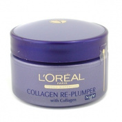 Dermo-Expertise Wrinkle De-Crease Collagen Re-Plumper Night Cream, 50ml/1.7oz