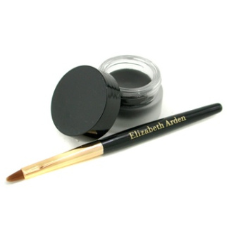 Color Intrigue Gel Eyeliner with Brush - Black, 3.5g/0.12oz
