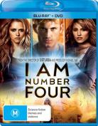 I Am Number Four  [Region B] [Blu-ray]