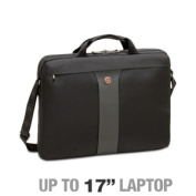 Wenger WA-7444-14F00 LEGACY Double Slimcase - Fits Notebook PCs up to 17, Checkpoint Friendly