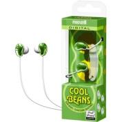 Maxell  Green Cool Beans Digital Ear Buds