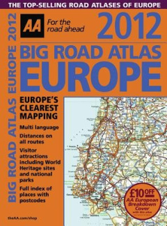 AA Big Road Atlas Europe: 2012