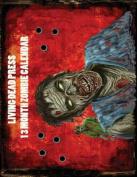 2012 Zombie 13 Month Wall Calendar