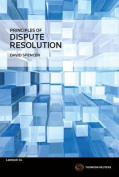 Principles of Dispute Resolution