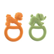 Vulli Vanilla Flavored Teething Rings - 2-Pack