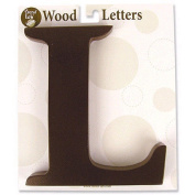Trend-Lab 20312 Brown Wood Letter L