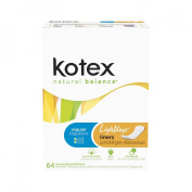 Kotex Kotex Lightdays Unscented Liners - 64
