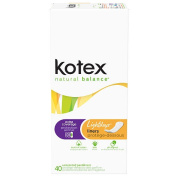 Kotex Lightdays Extra Coverage Pantiliners - 40 Ct.