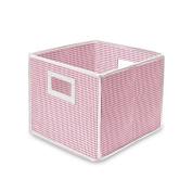 Badger Basket 00840 Folding Basket-Storage Cube- Pink Gingham- Set Of 2