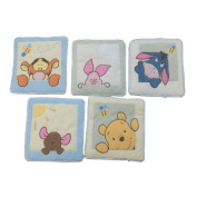 Kids Line Soft & Fuzzy Pooh Wall Hanging - 5 Piece Set