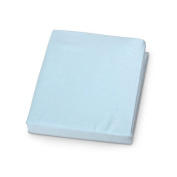 Carter's Easy-Fit Jersey Crib Fitted Sheet - Blue