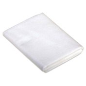 Carter's Keep Me Dry Flannel Crib Pad - White
