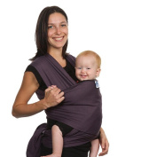 Moby Wrap Organic Baby Carrier - Eggplant