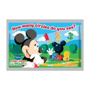 Neat Solutions Mickey Mouse Clubhouse Table Topper Disposable Stick-On Placemats, 18-Count