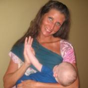 BabyBond Slurp & Burp Couture Nursing Sash / Belly Band-Turquoise One Size