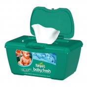 Pampers Baby Fresh Baby Wipes, Tub, Scented, 72 Ct