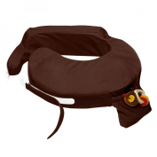My Brest Friend Deluxe Wearable Nursing Pillow - Chocolate