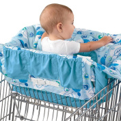 Bright Starts Comfort & Harmony Shopping Cart Cover - Blue