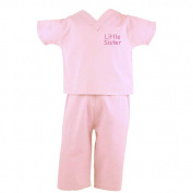 Little Sister Infant Scrubs - Pink