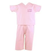 Little Sister Infant Scrubs - Pink