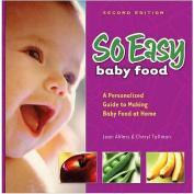 Fresh Baby So Easy Baby Food Cookbook