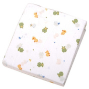 Carter's Easy-Fit Crib Printed Fitted Sheet - Frog