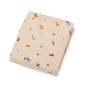 Carter's Easy-Fit Crib Printed Fitted Sheet - Animal