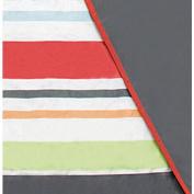 JJ Cole Essentials Blanket - Grey/Red