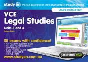 StudyOn VCE Legal Studies Units 3&4 & Booklet