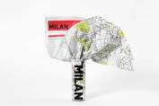 Milan (Crumpled City Map)