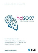Proceedings of HCI 2007 (Vol. 2)