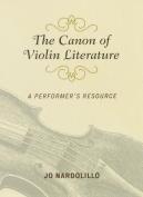 The Canon of Violin Literature
