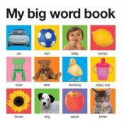 My Big Word Book (My Big Board Books) [Board book]
