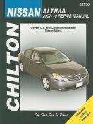 fits Nissan Altima Automotive Repair Manual (Chilton)