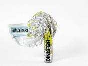 Helsinki (Crumpled City Map)