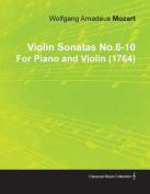 Violin Sonatas No.6-10 by Wolfgang Amadeus Mozart for Piano and Violin