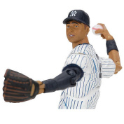 MLB Playmakers Series 2 NY Yankees 4 inch Action Figure - Derek Jeter