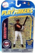 MLB Playmakers Series 2 Minnesota Twins 4 inch Action Figure - Joe Mauer