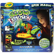 Crayola Glow Explosion Spin Magic Set