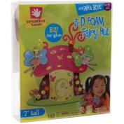 Fibre Craft 3D Foam Kit, Fairy Hut