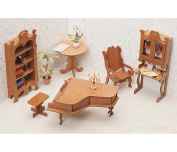 Greenleaf Library Furniture Kit Set - 2.5cm Scale