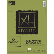 Canson XL-Series Recycled Bristol Paper Pad - 23cm x 30cm