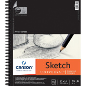 Pro-Art 457483 Canson Universal Sketch Book 11 in. x 14 in. -100 Sheets