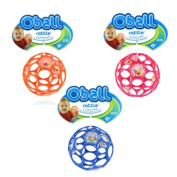 Rhino Toys Oball Rattle, Colours May Vary